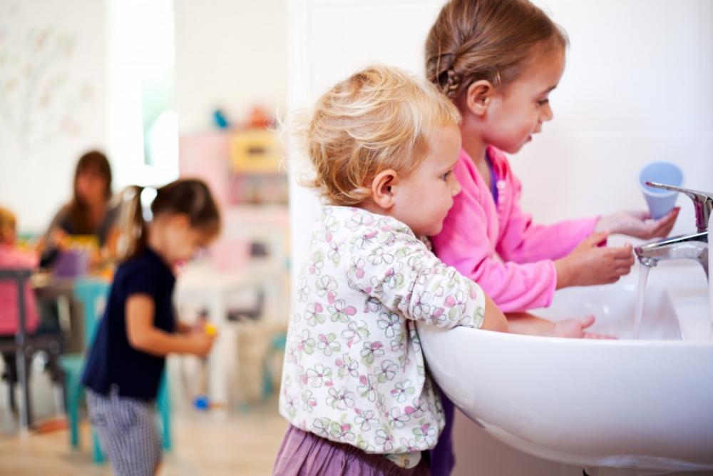 Spălatul pe mâini – cei șase pași obligatorii